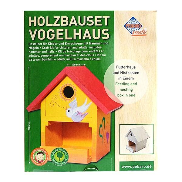 Алуминиево фолио, 20 х 30 см / 0,15 мм, 3 бр., двуцветно - червено и сребристо Дървен комплект за сглобяване DIY, Къщичка за птици