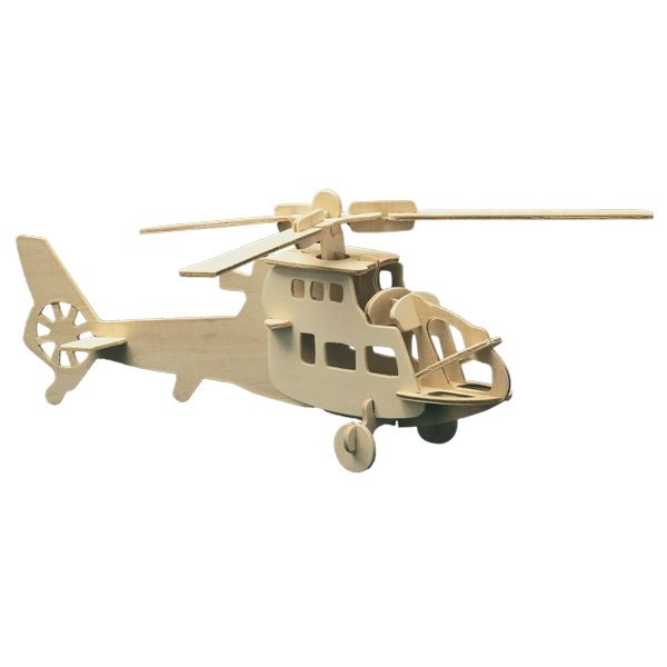 Алуминиево фолио, 20 х 30 см / 0,15 мм, 3 бр., двуцветно - червено и сребристо Дървен комплект за сглобяване, Хеликоптер
