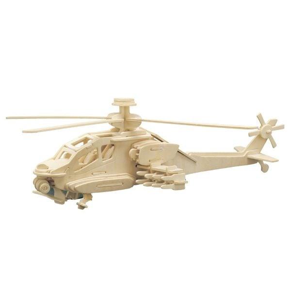 Дървен комплект за сглобяване, Хеликоптер Apache