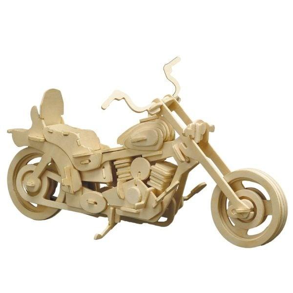 Алуминиево фолио, 20 х 30 см / 0,15 мм, 3 бр., двуцветно - червено и сребристо Дървен комплект за сглобяване, Мотоциклет Harley Davidson