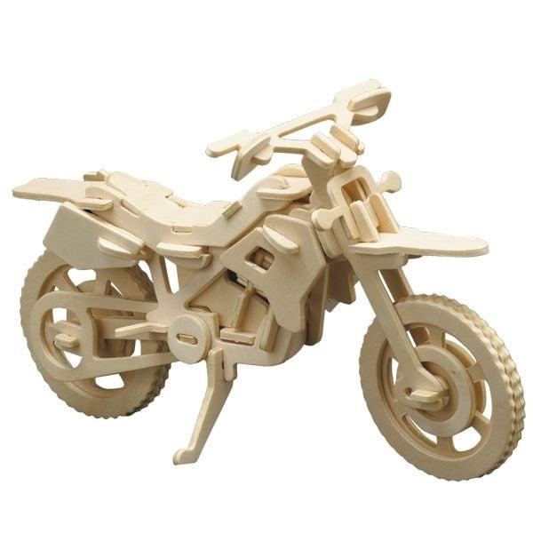 Алуминиево фолио, 20 х 30 см / 0,15 мм, 3 бр., двуцветно - червено и сребристо Дървен комплект за сглобяване, Мотоциклет кросов