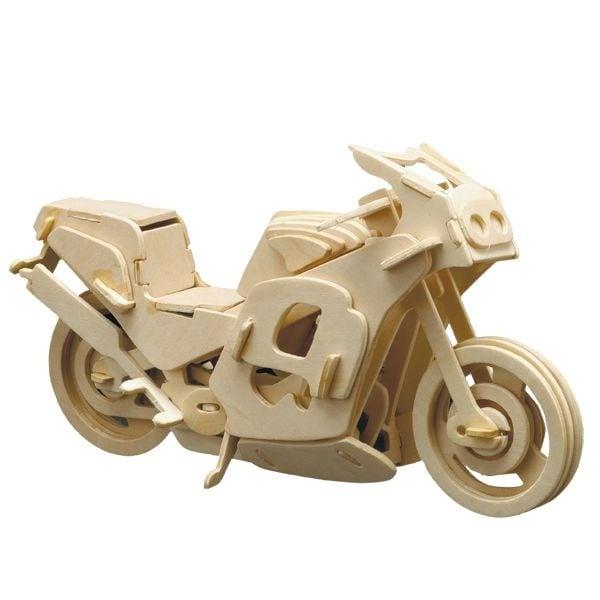 Алуминиево фолио, 20 х 30 см / 0,15 мм, 3 бр., двуцветно - червено и сребристо Дървен комплект за сглобяване, Мотоциклет пистов
