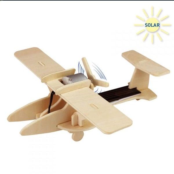Алуминиево фолио, 20 х 30 см / 0,15 мм, 3 бр., двуцветно - червено и сребристо Дървен комплект за сглобяване, Соларeн спортен самолет