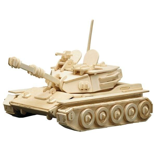 Алуминиево фолио, 20 х 30 см / 0,15 мм, 3 бр., двуцветно - червено и сребристо Дървен комплект за сглобяване, Танк Panzer