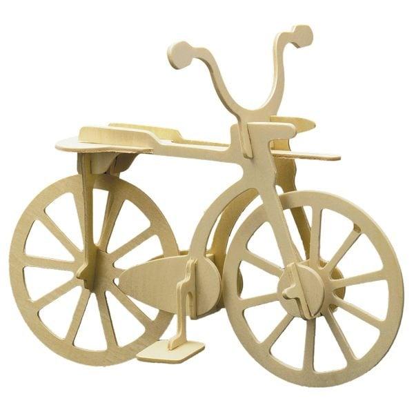 Алуминиево фолио, 20 х 30 см / 0,15 мм, 3 бр., двуцветно - червено и сребристо Дървен комплект за сглобяване, Велосипед