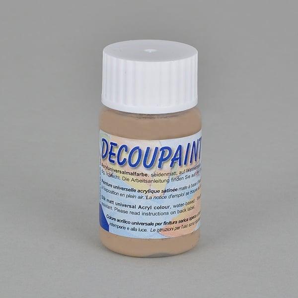 Decoupaint, 25 ml, акрилни бои  Decoupaint, 25 ml, акрилна боя, бежова