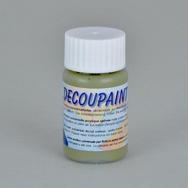 Decoupaint, 25 ml, акрилни бои  Decoupaint, 25 ml, акрилна боя, цвят фъстък