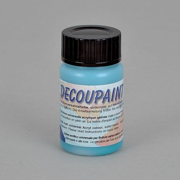 Decoupaint, 25 ml, акрилни бои  Decoupaint, 25 ml, акрилна боя, гълъбово синя