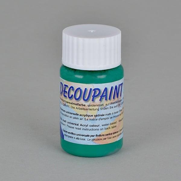 Decoupaint, 25 ml, акрилни бои  Decoupaint, 25 ml, акрилна боя, маслено зелена