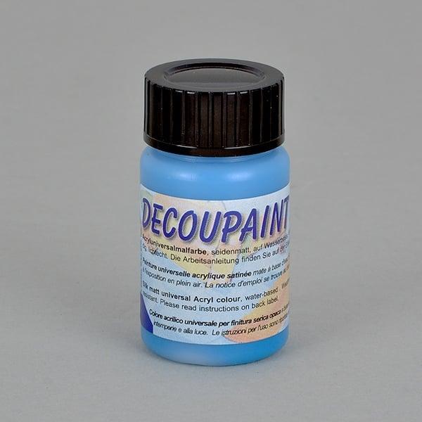 Decoupaint, 25 ml, акрилни бои  Decoupaint, 25 ml, акрилна боя, синя