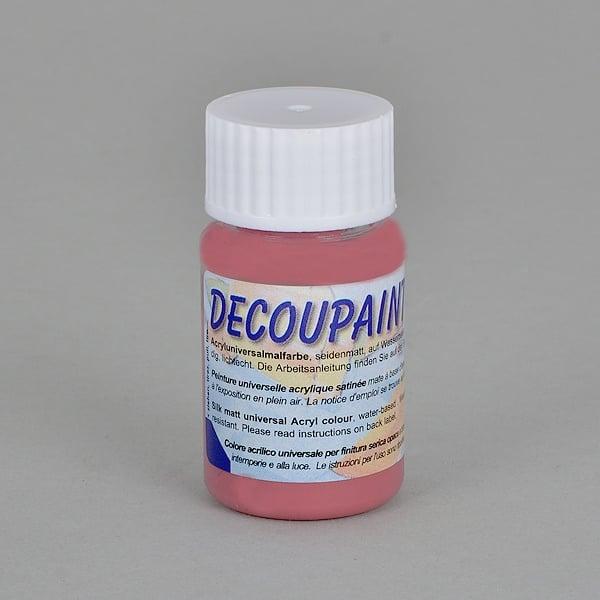 Decoupaint, 25 ml, акрилни бои Decoupaint, 25 ml, акрилна боя, стара роза