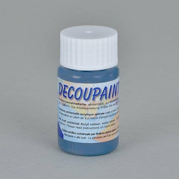 Decoupaint, 25 ml, акрилни бои  Decoupaint, 25 ml, акрилна боя, тъмно синя