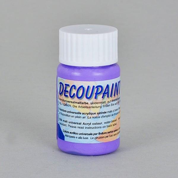Decoupaint, 25 ml, акрилни бои  Decoupaint, 25 ml, акрилна боя,  тъмно виолетова