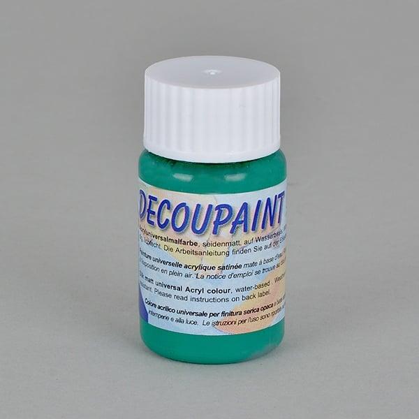 Decoupaint, 25 ml, акрилни бои  Decoupaint, 25 ml, акрилна боя, тъмно зелена