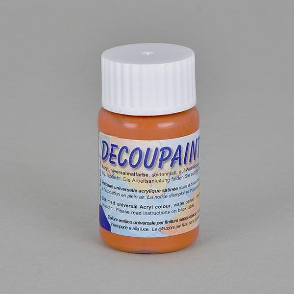 Decoupaint, 25 ml, акрилни бои  Decoupaint, 25 ml, акрилна боя, теракота