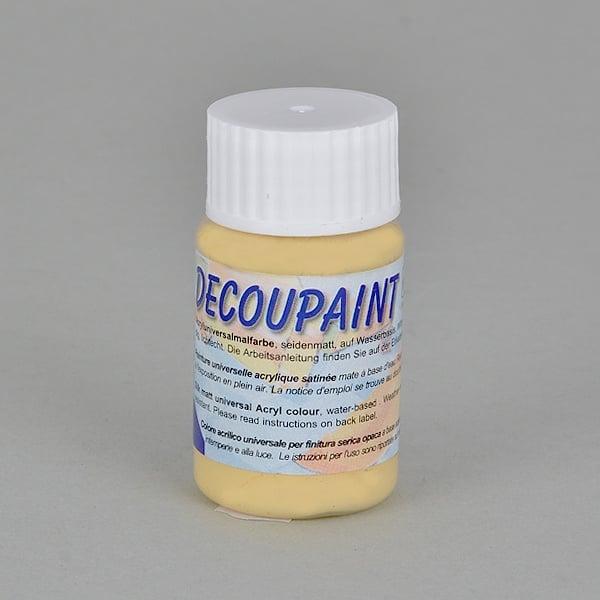 Decoupaint, 25 ml, акрилни бои Decoupaint, 25 ml, акрилна боя, ванилия