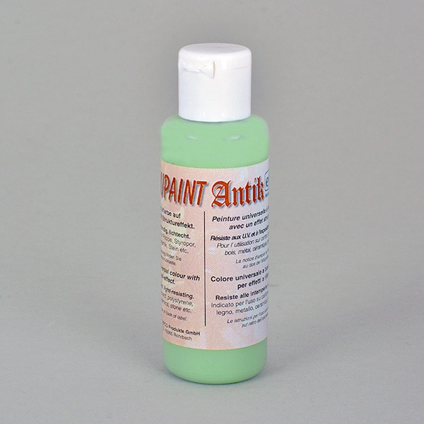 Decoupaint Antik, 50 ml, бои с ефектна структура  Decoupaint Antik, 50 ml, боя с ефектна структура, цвят маслина