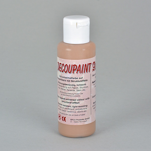 Decoupaint Antik, 50 ml, бои с ефектна структура  Decoupaint Antik, 50 ml, боя с ефектна структура,  цвят яйчена черупка