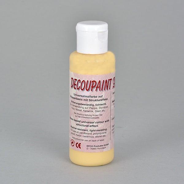 Decoupaint Antik, 50 ml, бои с ефектна структура  Decoupaint Antik, 50 ml, боя с ефектна структура, жълта