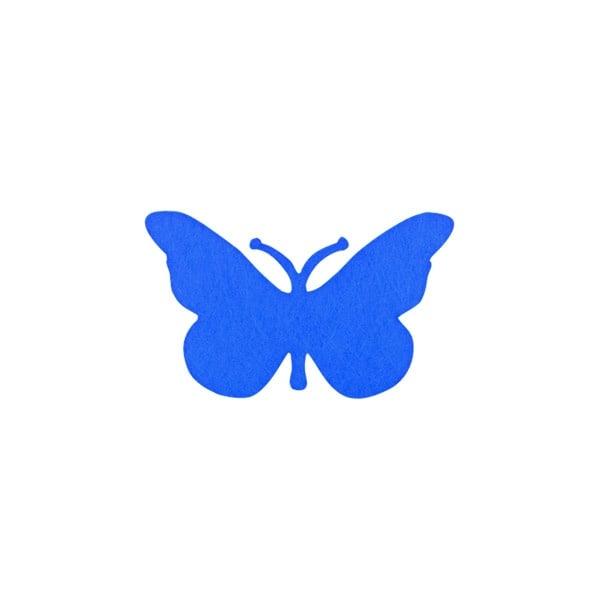 Деко фигурка пеперуда от филц  Деко фигурка пеперуда, Filz, 30 mm, лилава