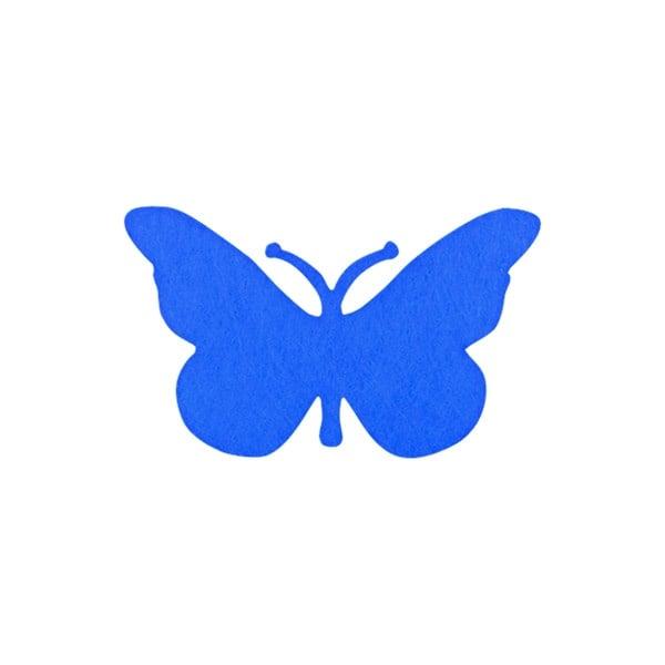 Деко фигурка пеперуда от филц  Деко фигурка пеперуда, Filz, 40 mm, лилава