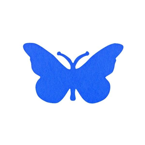 Деко фигурка пеперуда от филц  Деко фигурка пеперуда, Filz, 50 mm, лилава