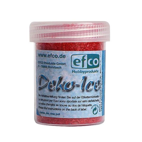 Декоративен лед, Deko-Ice, 40 g Декоративен лед, Deko-Ice, 40 g, червен