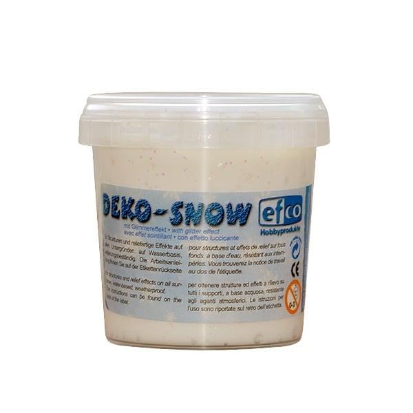 Алуминиево фолио, 20 х 30 см / 0,15 мм, 3 бр., двуцветно - червено и сребристо Декоративен сняг с блестящ ефект, Deko-Snow, mit Glimmereffekt, 150 g