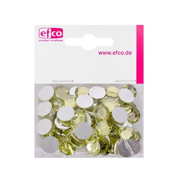 Декоративни камъчета, Acryl facettiert, 12 mm, 75 бр. Декоративни камъчета, Acryl facettiert, 12 mm, 75 бр., жълти