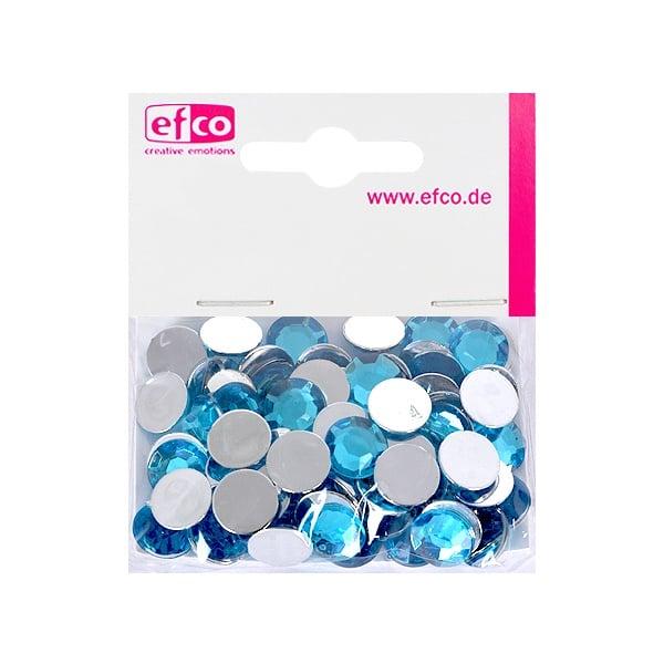 Декоративни камъчета, Acryl facettiert, 12 mm, 75 бр. Декоративни камъчета, Acryl facettiert, 12 mm, 75 бр., лазурно сини