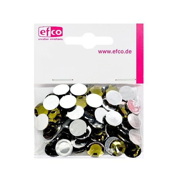 Декоративни камъчета, Acryl facettiert, 12 mm, 75 бр. Декоративни камъчета, Acryl facettiert, 12 mm, 75 бр., маслинено зелени