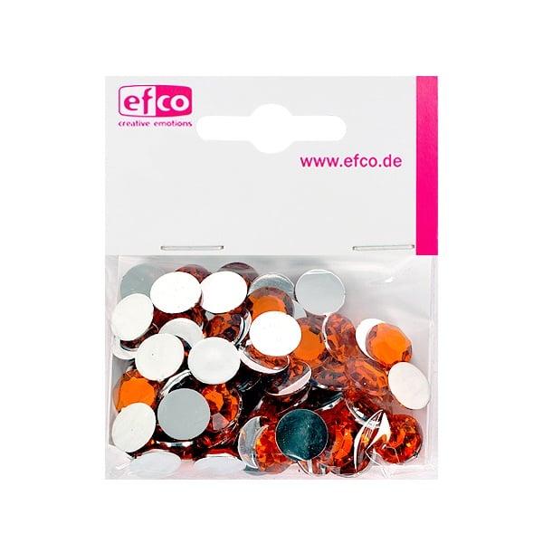 Декоративни камъчета, Acryl facettiert, 12 mm, 75 бр. Декоративни камъчета, Acryl facettiert, 12 mm, 75 бр., оранжеви