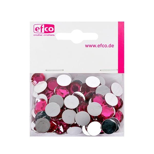 Декоративни камъчета, Acryl facettiert, 12 mm, 75 бр. Декоративни камъчета, Acryl facettiert, 12 mm, 75 бр., розови