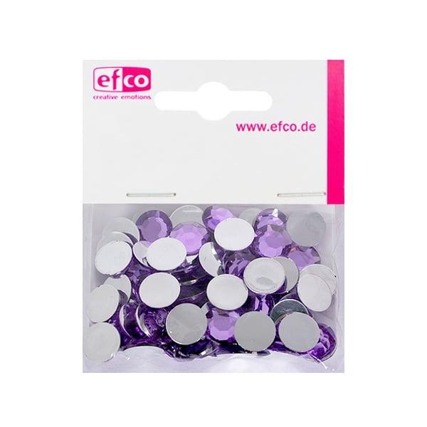 Декоративни камъчета, Acryl facettiert, 12 mm, 75 бр. Декоративни камъчета, Acryl facettiert, 12 mm, 75 бр., светло лилави