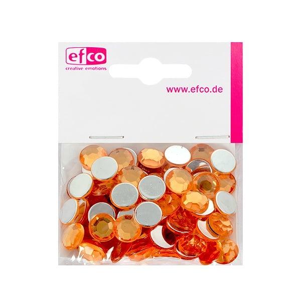 Декоративни камъчета, Acryl facettiert, 12 mm, 75 бр. Декоративни камъчета, Acryl facettiert, 12 mm, 75 бр., светло оранжеви