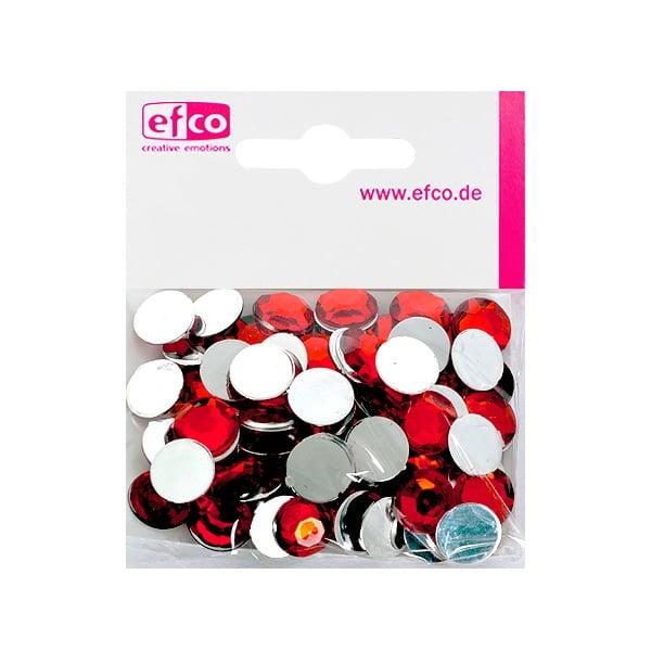 Декоративни камъчета, Acryl facettiert, 12 mm, 75 бр. Декоративни камъчета, Acryl facettiert, 12 mm, 75 бр., тъмно червени