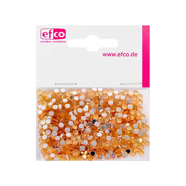 Декоративни камъчета, Acryl facettiert, 4 mm, 500 бр. Декоративни камъчета, Acryl facettiert, 4 mm, 500 бр., светло оранжеви