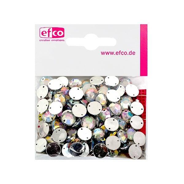 Декоративни камъчета, Acryl facettiert, два отвора, 10 mm, 100 бр. Декоративни камъчета, Acryl facettiert, два отвора, 10 mm, 100 бр., холограмни