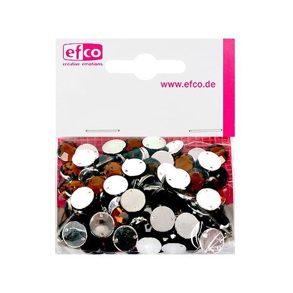 Декоративни камъчета, Acryl facettiert, два отвора, 10 mm, 100 бр. Декоративни камъчета, Acryl facettiert, два отвора, 10 mm, 100 бр., кафяви