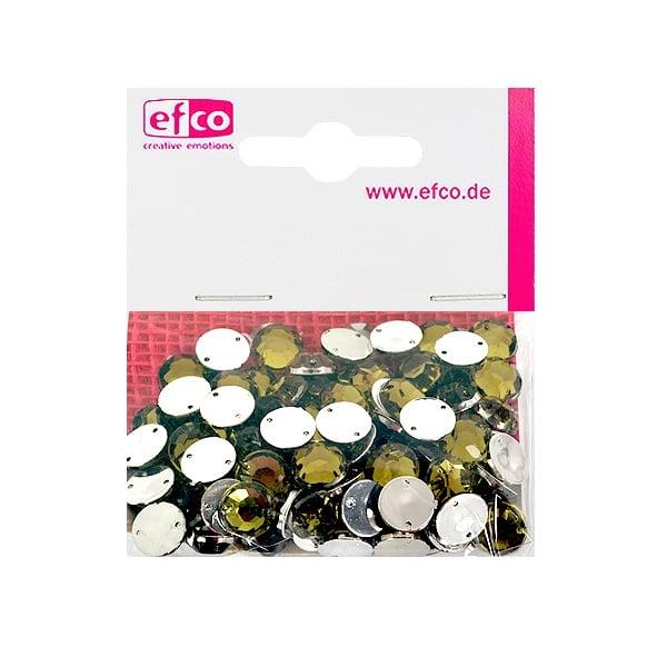 Декоративни камъчета, Acryl facettiert, два отвора, 10 mm, 100 бр. Декоративни камъчета, Acryl facettiert, два отвора, 10 mm, 100 бр., маслинено зелени