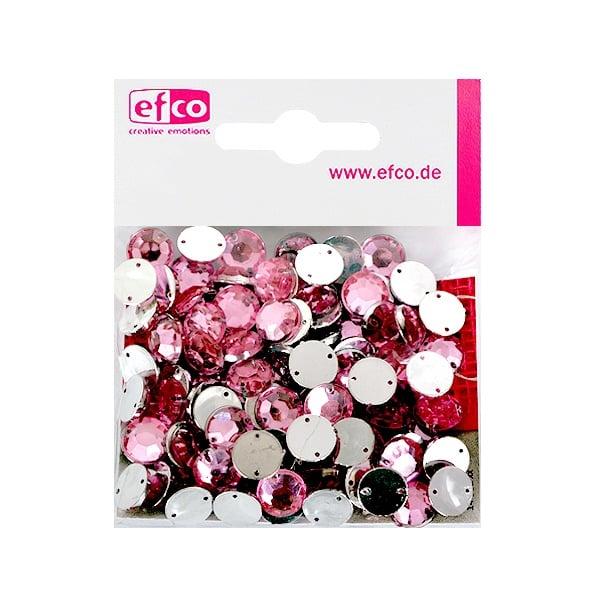Декоративни камъчета, Acryl facettiert, два отвора, 10 mm, 100 бр. Декоративни камъчета, Acryl facettiert, два отвора, 10 mm, 100 бр., роза