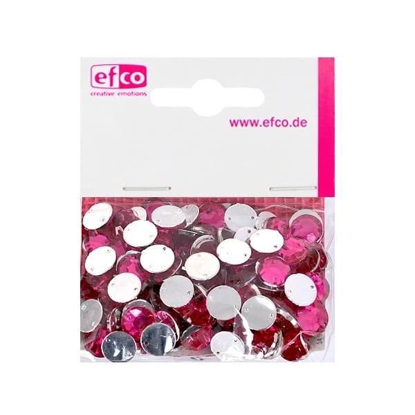 Декоративни камъчета, Acryl facettiert, два отвора, 10 mm, 100 бр. Декоративни камъчета, Acryl facettiert, два отвора, 10 mm, 100 бр., розови