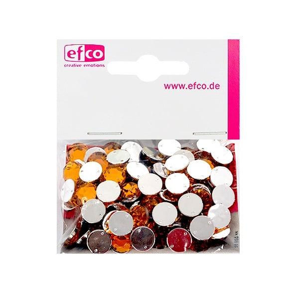 Декоративни камъчета, Acryl facettiert, два отвора, 10 mm, 100 бр. Декоративни камъчета, Acryl facettiert, два отвора, 10 mm, 100 бр., светло оранжеви