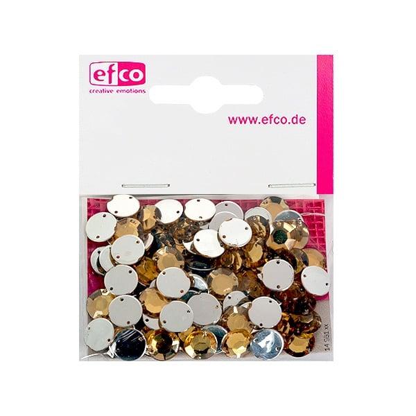 Декоративни камъчета, Acryl facettiert, два отвора, 10 mm, 100 бр. Декоративни камъчета, Acryl facettiert, два отвора, 10 mm, 100 бр., топаз