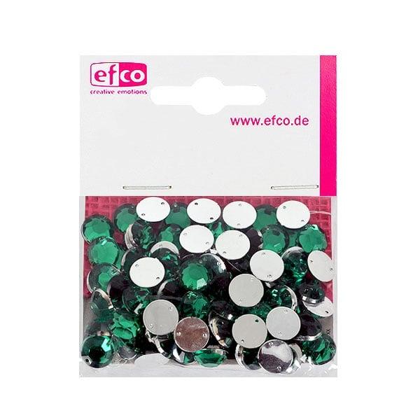 Декоративни камъчета, Acryl facettiert, два отвора, 10 mm, 100 бр. Декоративни камъчета, Acryl facettiert, два отвора, 10 mm, 100 бр., зелени