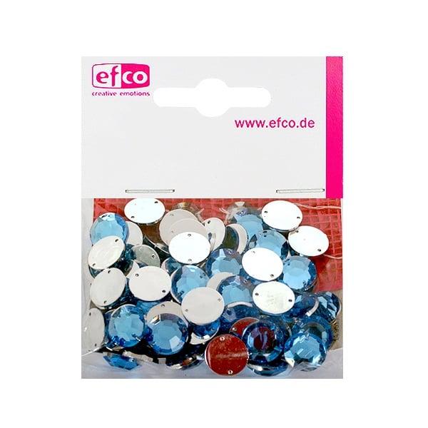 Декоративни камъчета, Acryl facettiert, два отвора, 12 mm, 75 бр. Декоративни камъчета, Acryl facettiert, два отвора, 12 mm, 75 бр., светло сини