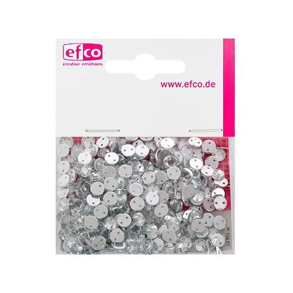Декоративни камъчета, Acryl facettiert, два отвора, 6 mm, 250 бр. Декоративни  камъчета, Acryl facettiert, два отвора, 6 mm, 250 бр., кристал