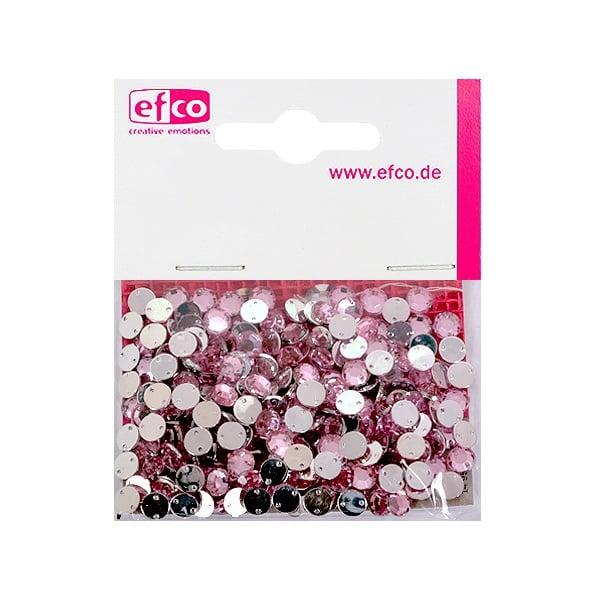 Декоративни камъчета, Acryl facettiert, два отвора, 6 mm, 250 бр. Декоративни камъчета, Acryl facettiert, два отвора, 6 mm, 250 бр., роза