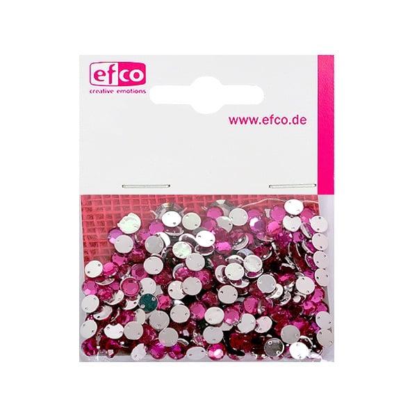 Декоративни камъчета, Acryl facettiert, два отвора, 6 mm, 250 бр. Декоративни камъчета, Acryl facettiert, два отвора, 6 mm, 250 бр., розови