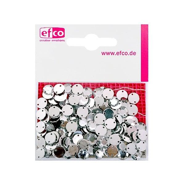 Декоративни камъчета, Acryl facettiert, два отвора, 8 mm, 150 бр.